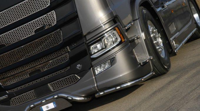 Nuova Mascherina Per Scania Serie S