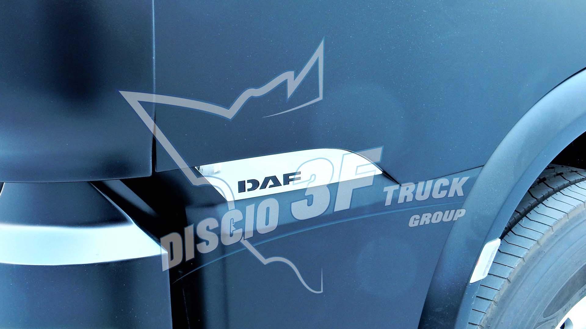 Kit Placche Fondo Portiera, Daf 106