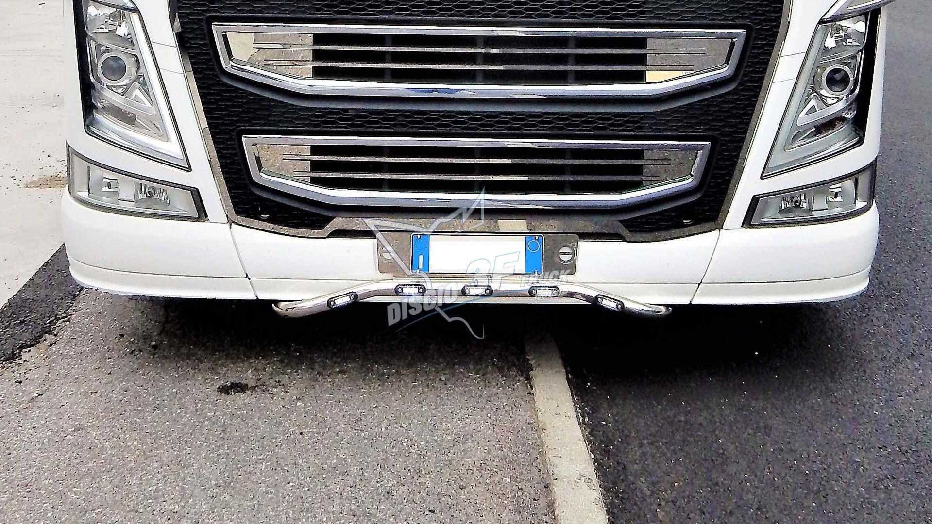 Porta Targa, Volvo FH4. Ø42,4