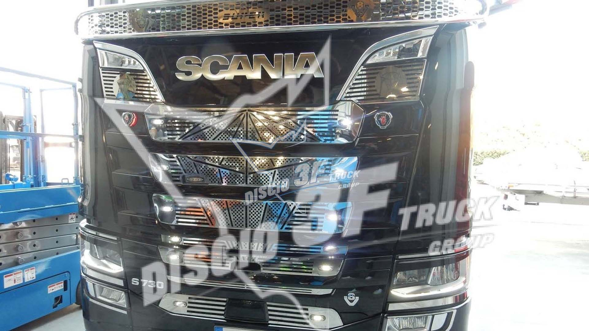 Kit Griglia Mascherina Diamante, Scania N/G