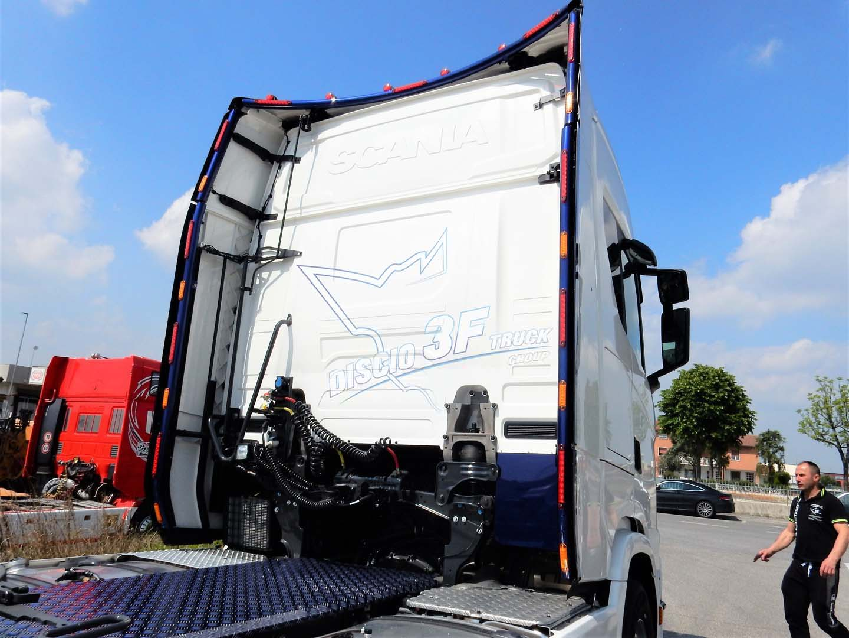 Kit Tubi Retro Spoiler, Scania N/G – Cab. S