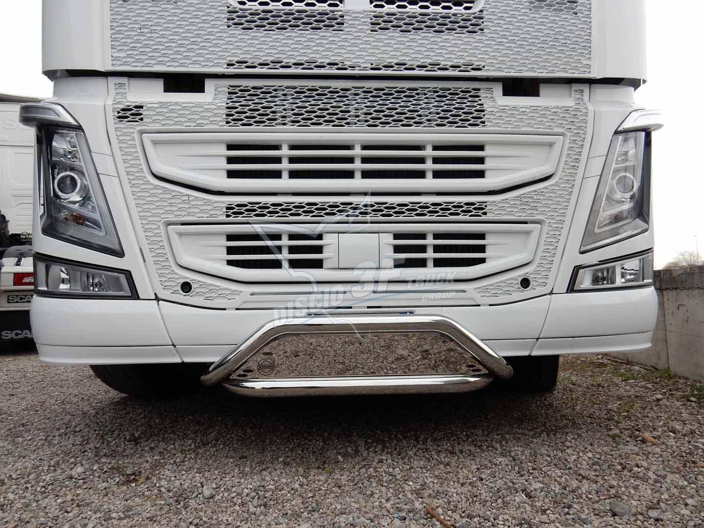 Bullbar Doppio, Volvo FH4. Ø60,3