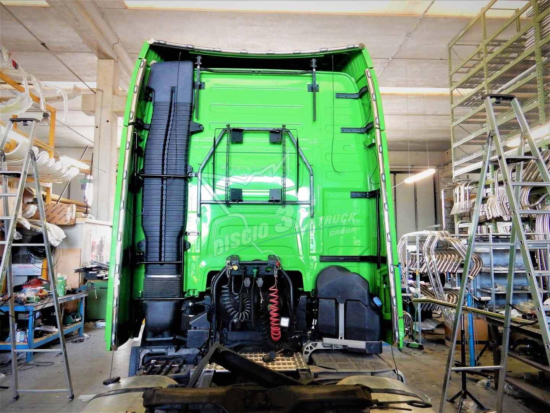 Tubi Retro Spoiler, Volvo FH4 Globetrotter XL