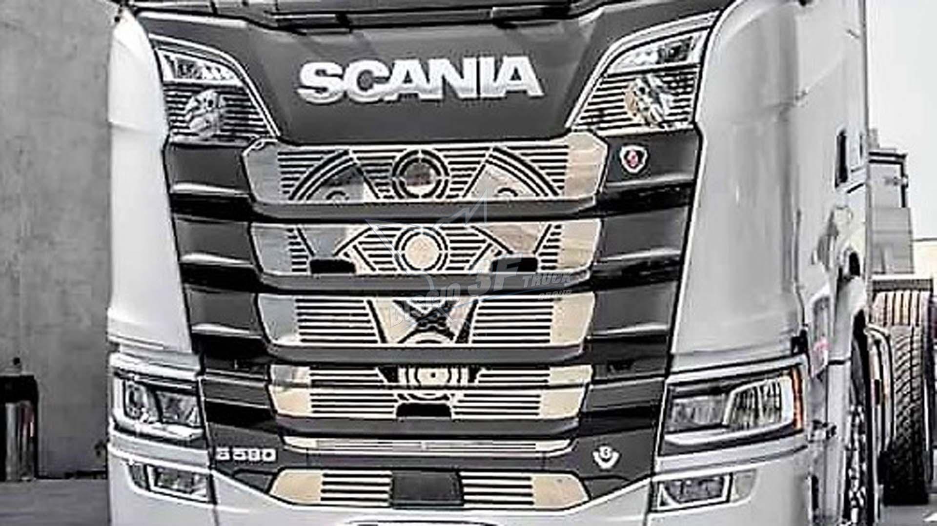 Mascherina V8 E Pistoni, Scania N/G