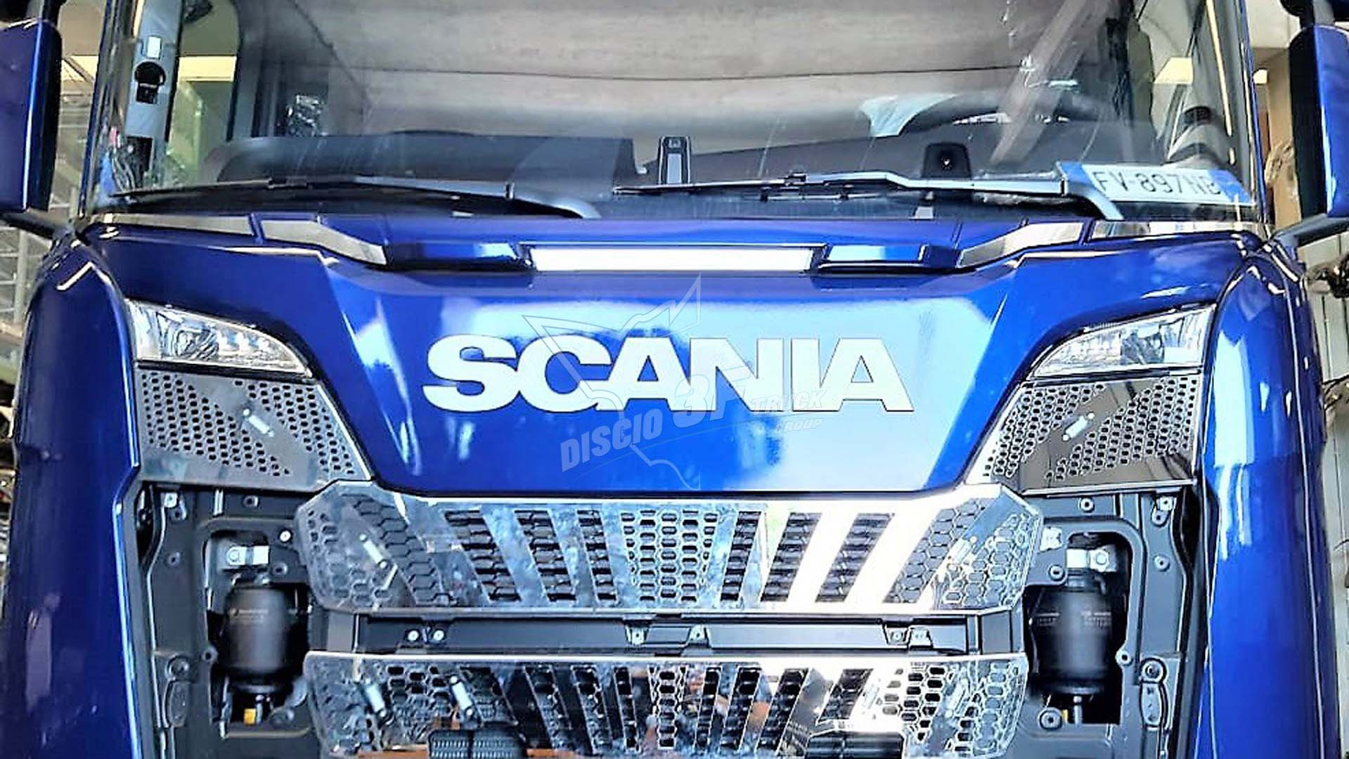 Placca Maniglione, 5 Pz. Scania N/G
