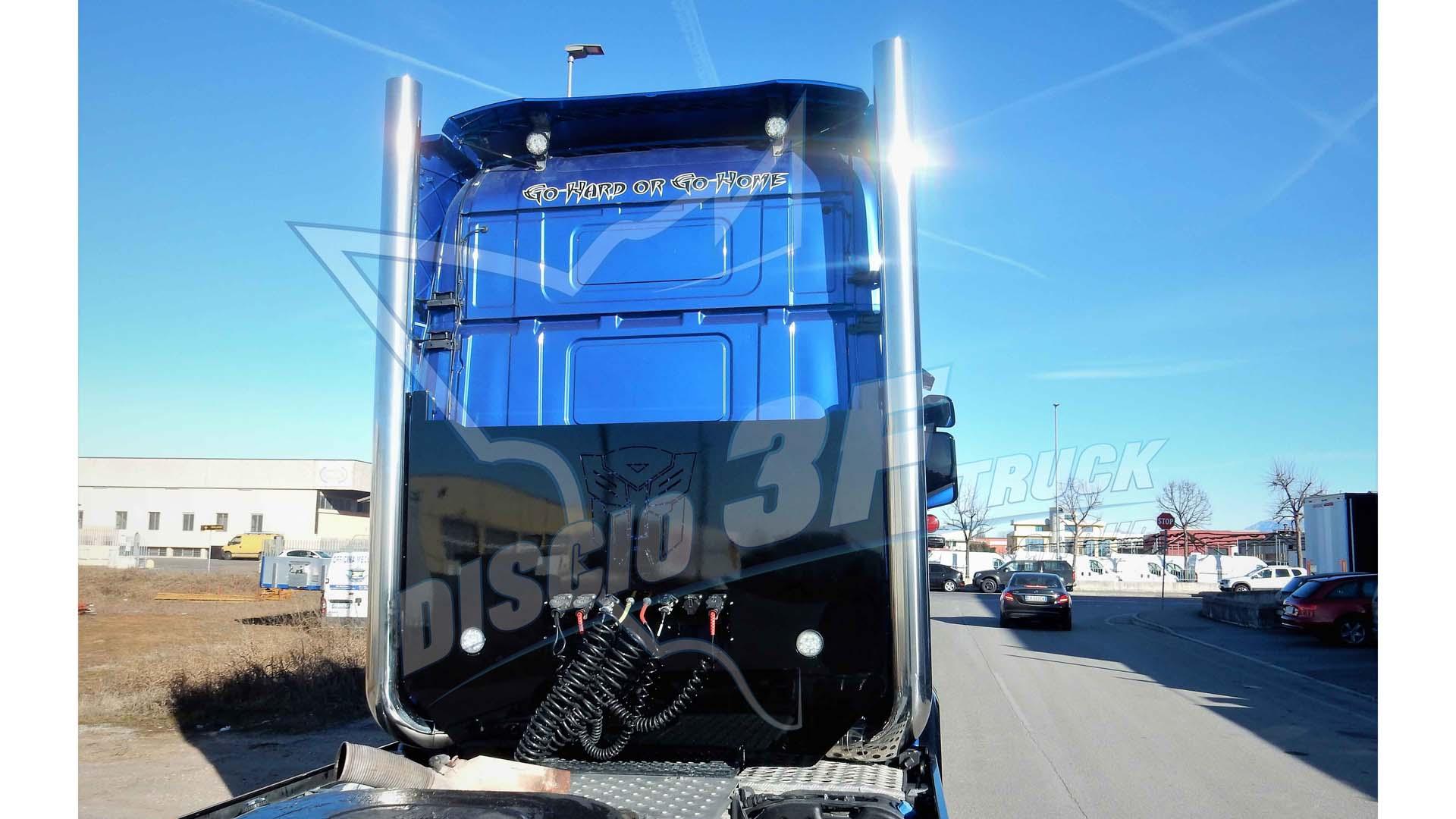Terminale Verticale Con Telaio, Scania R2/R3