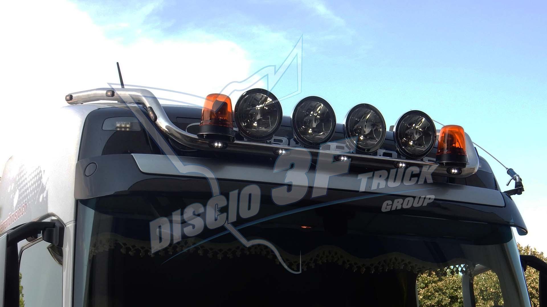 Supporto Fari XL, Volvo FH4 Cabina Globetrotter